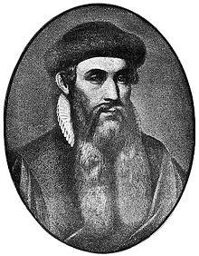 Penemu Mesin cetak - Johannes Gutenberg