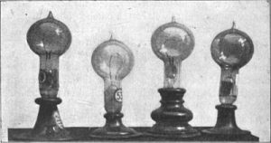 Model Lampu Temuan Edison