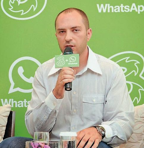 Penemu, Aplikasi Whatsapp, Jan Koum