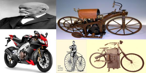 Ini Dia Penemu Sepeda Motor Pertama Di Dunia Serta